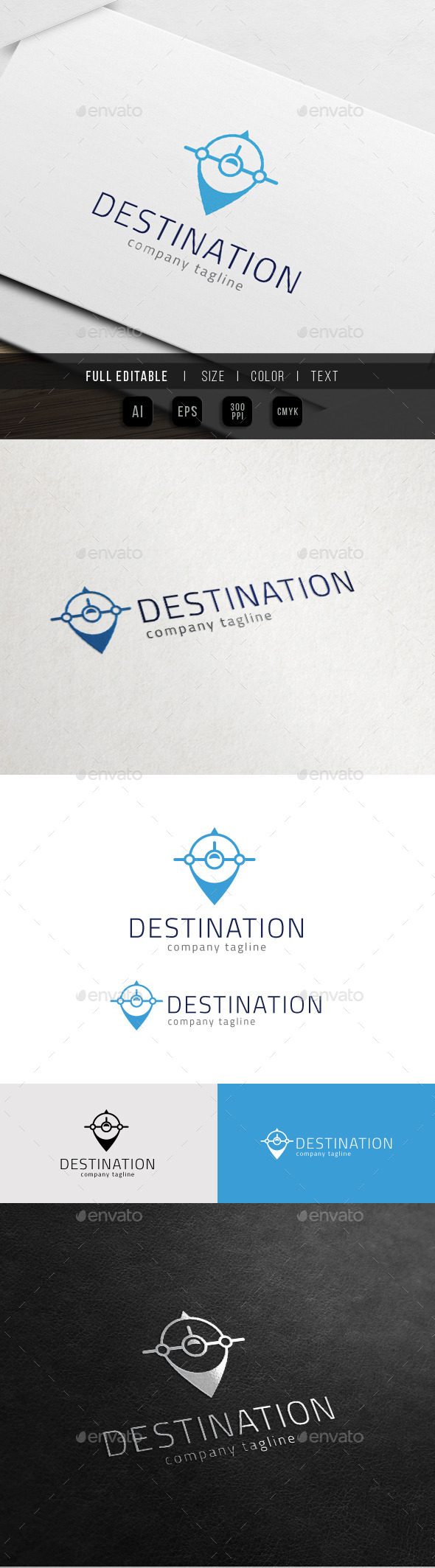 GraphicRiver Tour Travel Map Destination Place 10998785