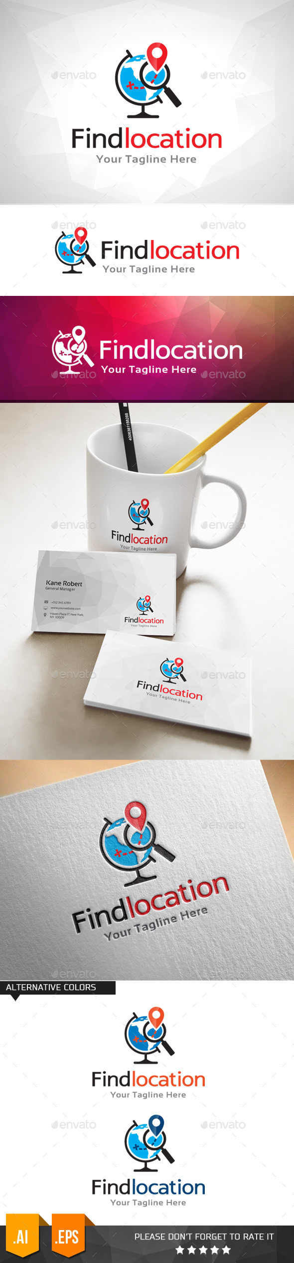 GraphicRiver Find Your Location Logo Template 11000087