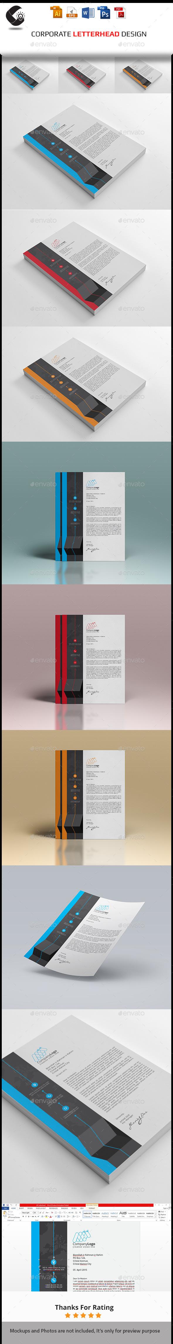 GraphicRiver Letterhead 11000097