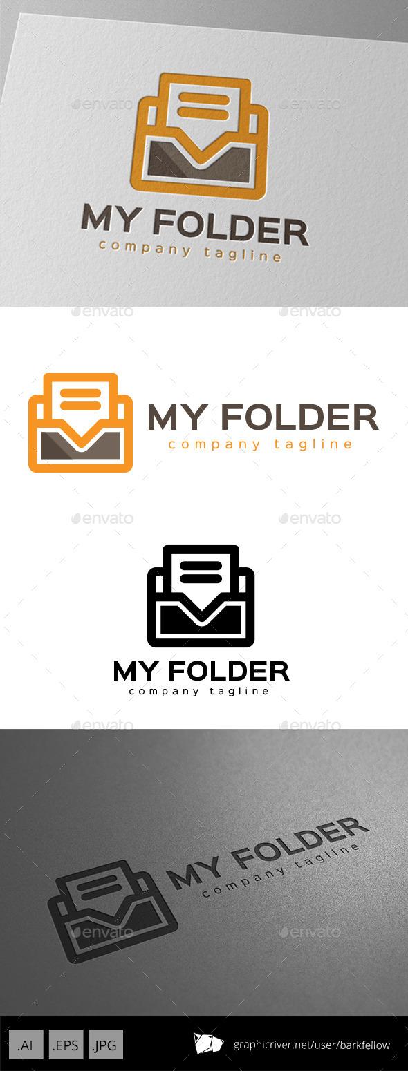 GraphicRiver My Folder Logo Design 11000314