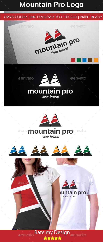 GraphicRiver mountain pro Logo 11000323