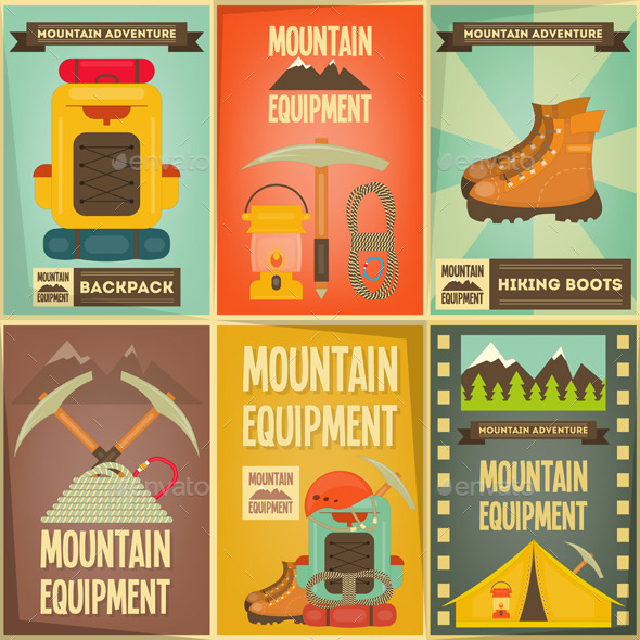 GraphicRiver Mountain Climbing 11000575