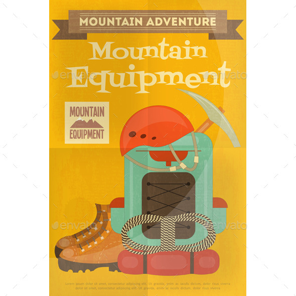 GraphicRiver Mountain Climbing 11000584