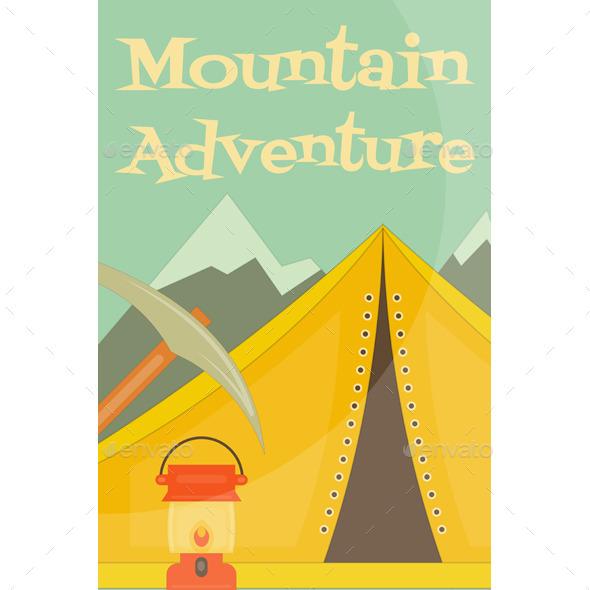 GraphicRiver Mountain Climbing 11000591
