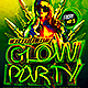 Memorial Day Glow Party - GraphicRiver Item for Sale