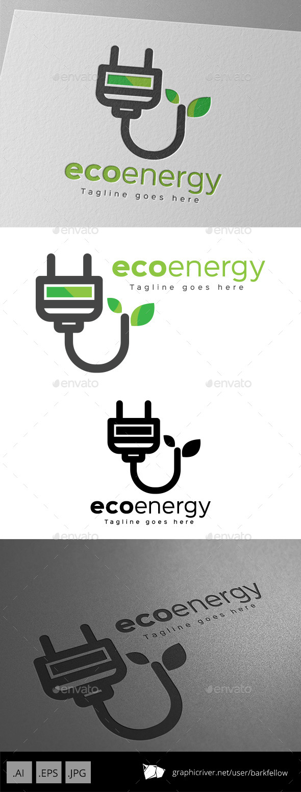 GraphicRiver Eco Energy Logo Design 11000656