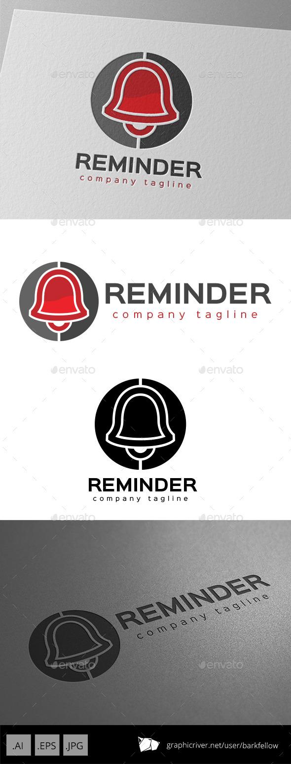 GraphicRiver Bell Reminder Logo Design 11000714
