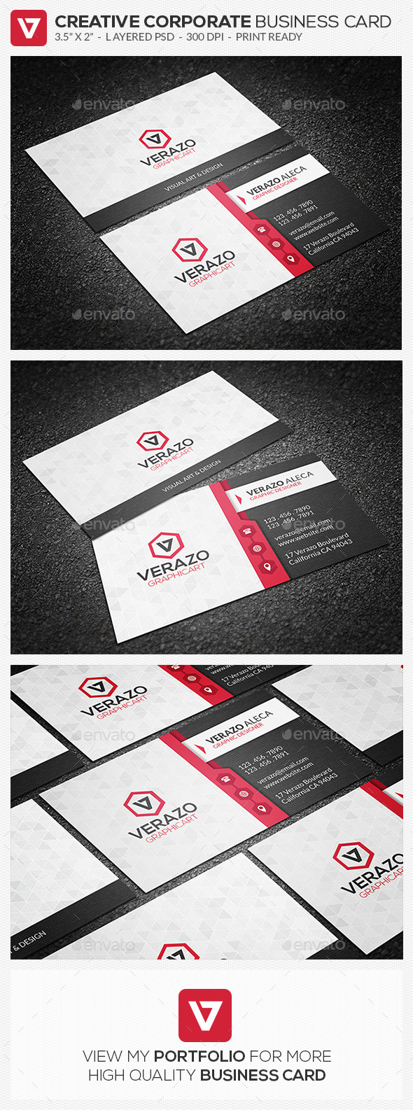 GraphicRiver Modern Corporate Business Card 79 11000759