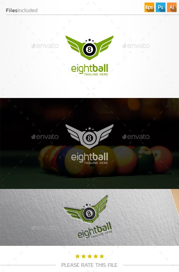 GraphicRiver Billiard Logo 11000789