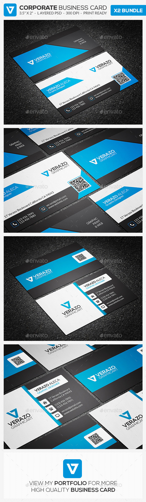GraphicRiver Business Card Bundle 17 11000899