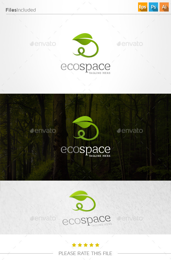 GraphicRiver Eco Logo 11001123