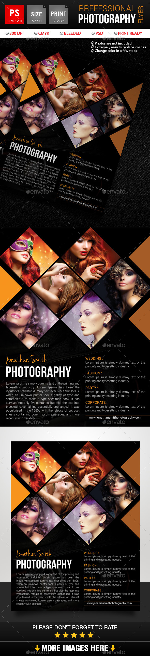 GraphicRiver Photography Flyer 11001324