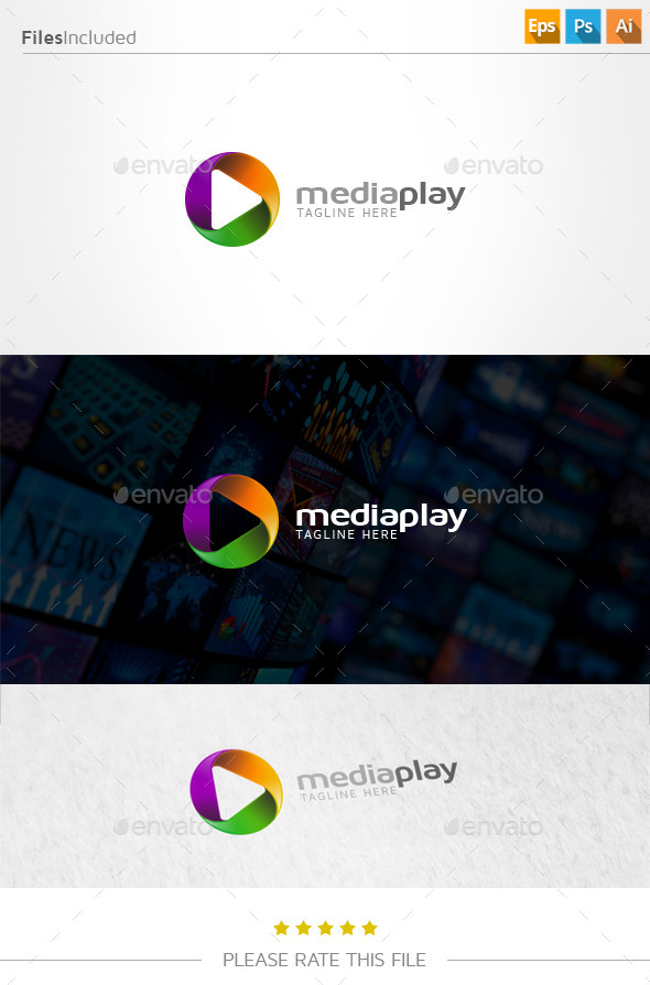 GraphicRiver Media Logo 11001385