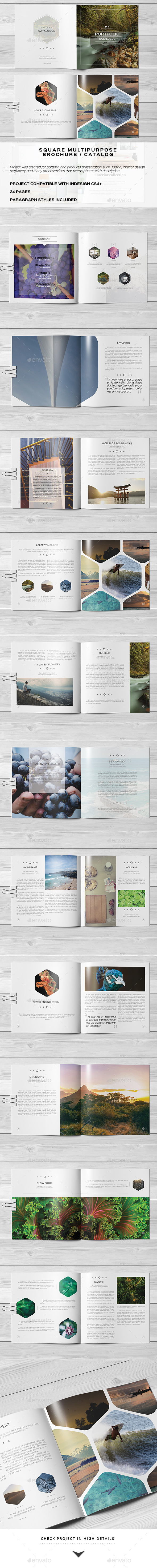 GraphicRiver Multipurpose Square Brochure 2 11001458