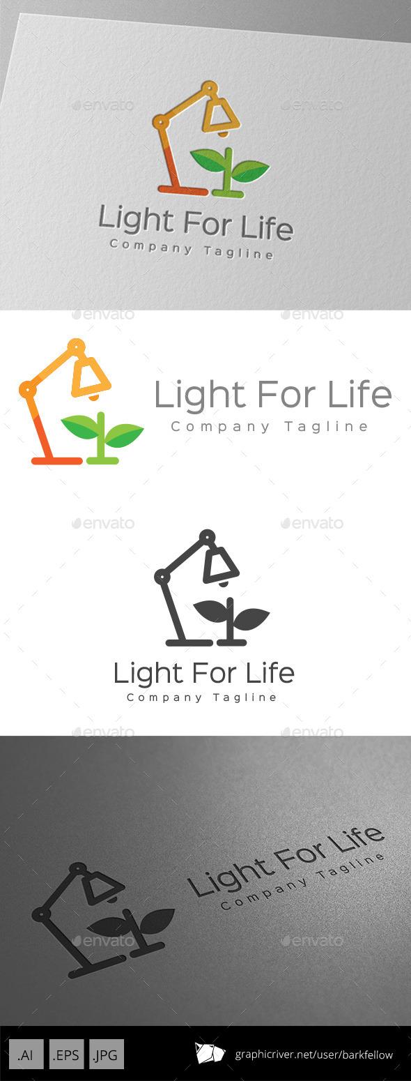 GraphicRiver Light For Life Logo Design 11001501