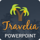 Travelia PowerPoint Presentation Template  - GraphicRiver Item for Sale