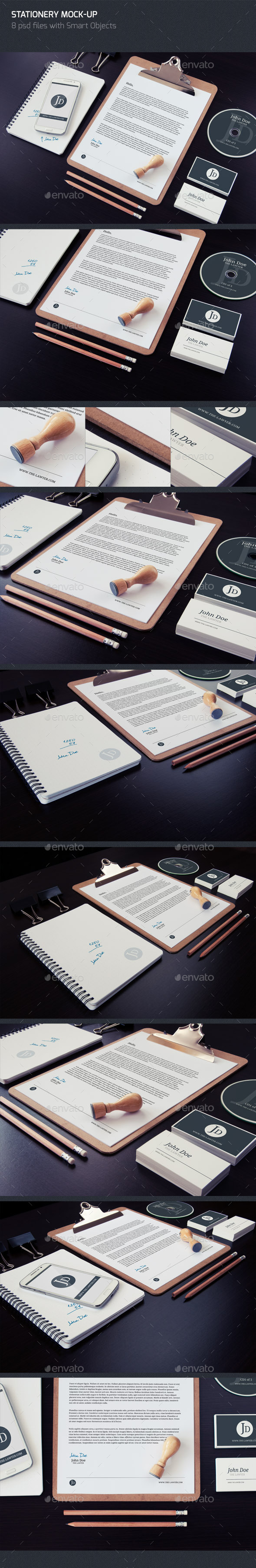 Stationery Mock-up (Stationery)
