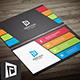 Vibrant Multi color Business Card - GraphicRiver Item for Sale