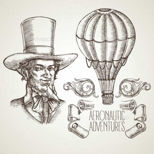 GraphicRiver Aeronautic Adventure 11002432