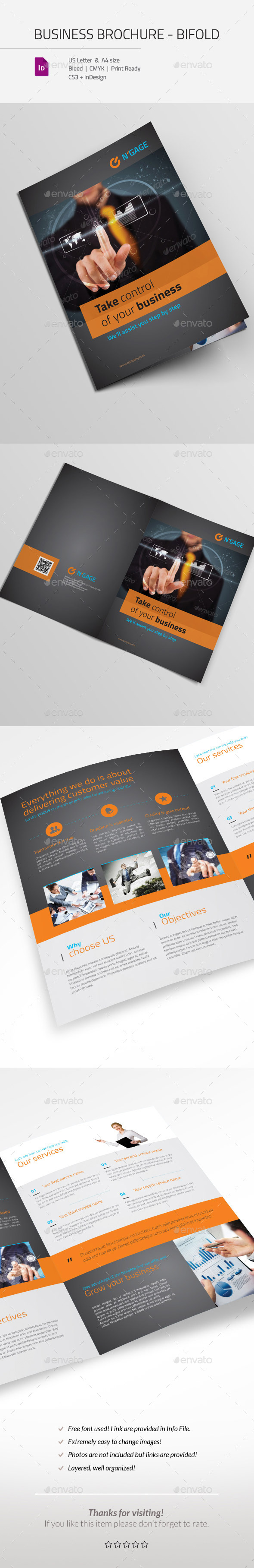 GraphicRiver Business Corporate Brochure Bifold 11002542