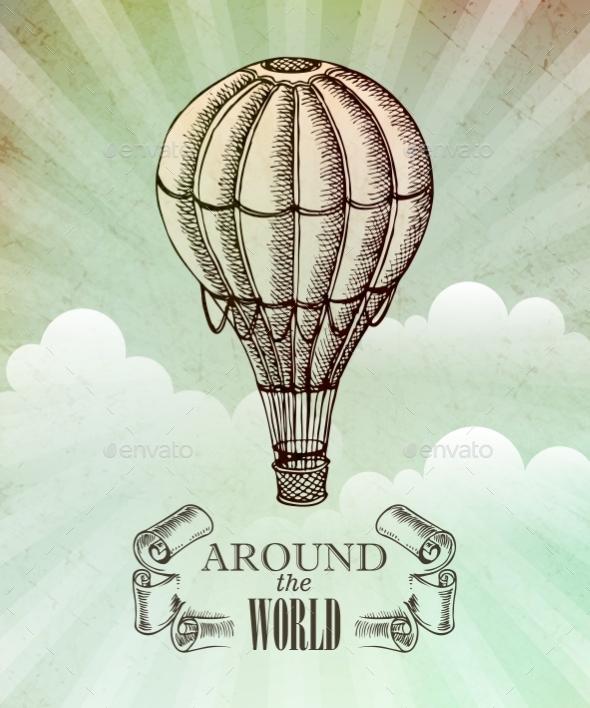 GraphicRiver Aeronautic Adventure 11002555