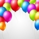 Festive Balloons - GraphicRiver Item for Sale