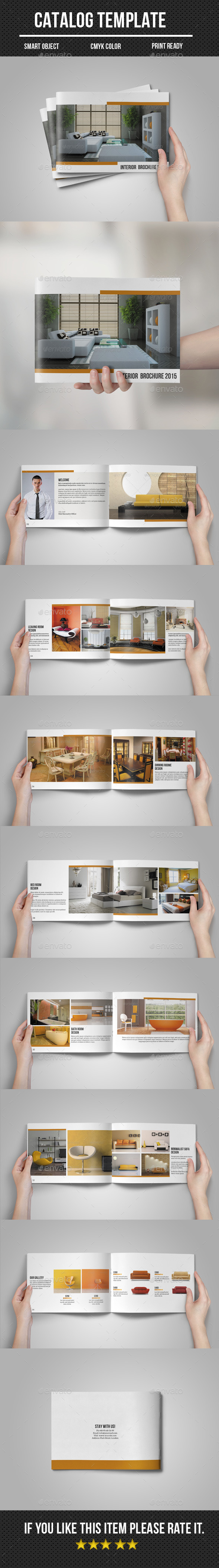 GraphicRiver Interior Catalog Portfolio 11003029