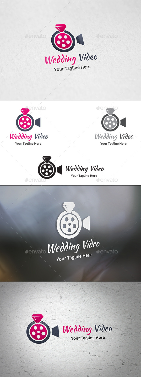 GraphicRiver Wedding Video Logo Template 11003541