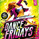 Flyer Dance Fridays Konnekt - GraphicRiver Item for Sale