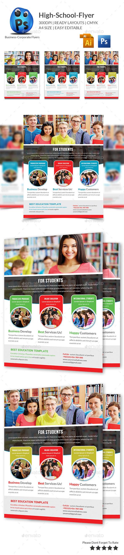 GraphicRiver Junior School Education Flyer Template 11003548