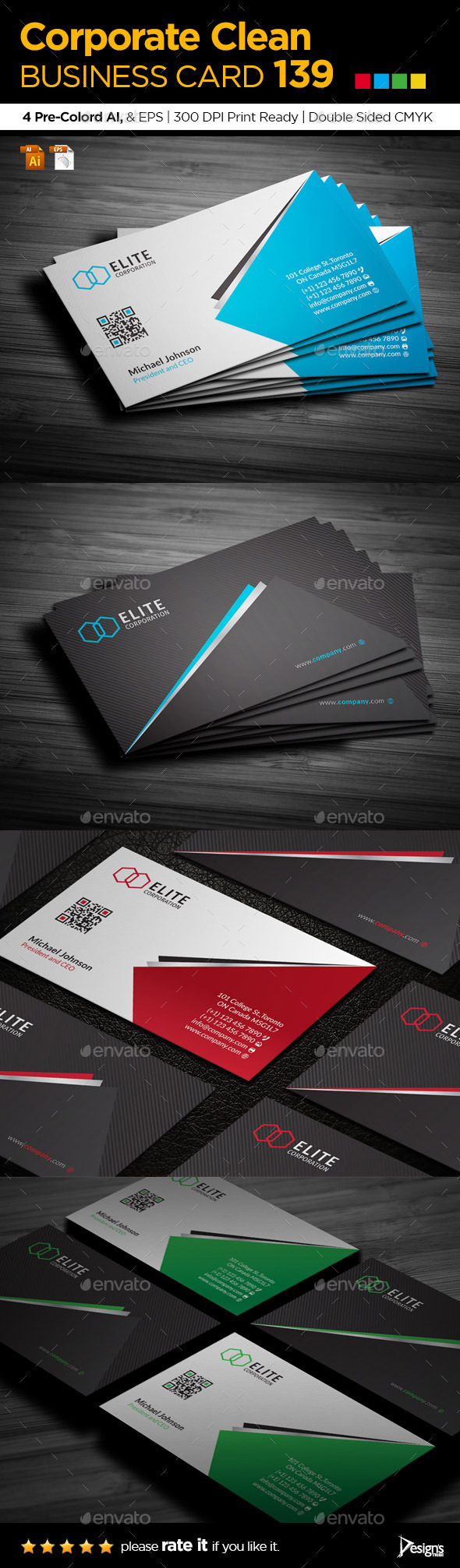 GraphicRiver Business Card 139 11003549