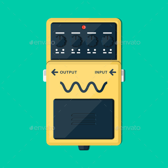 GraphicRiver Guitar Pedal 11003935