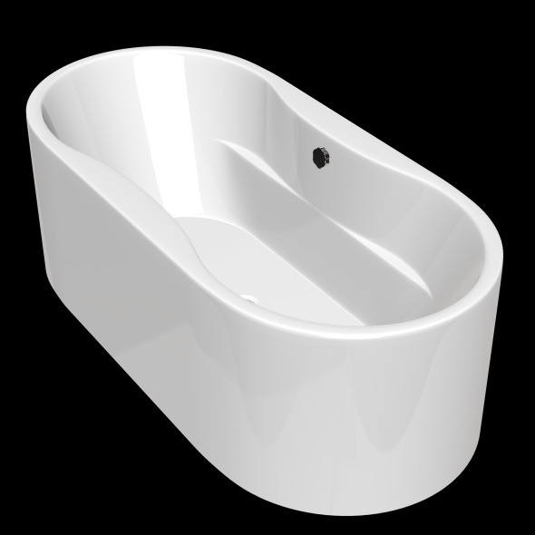 3DOcean Freestanding Modern Bathtub No 02 10904094