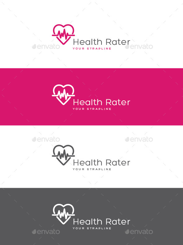 GraphicRiver Health Rater Logo 11004010