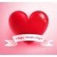 Heart with Paper Banner  - GraphicRiver Item for Sale