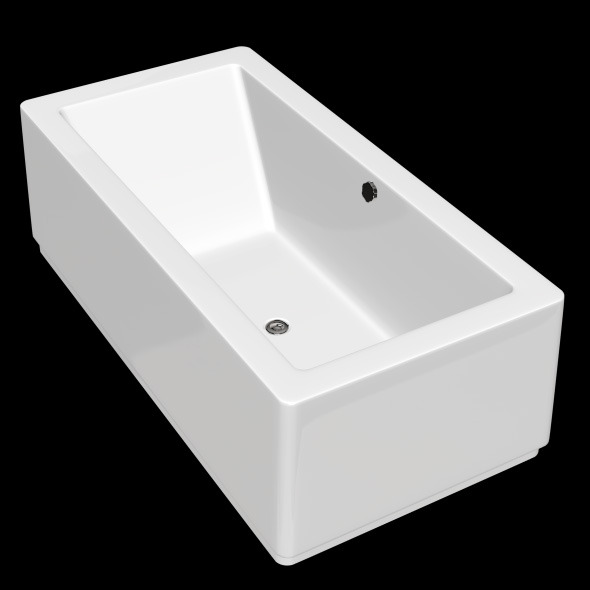 3DOcean Freestanding Modern Bathtub No 03 10904777