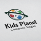 Kids Planet Logo - GraphicRiver Item for Sale