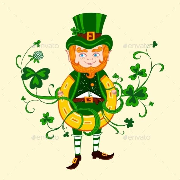 GraphicRiver Illustration of Saint Patrick 11004425
