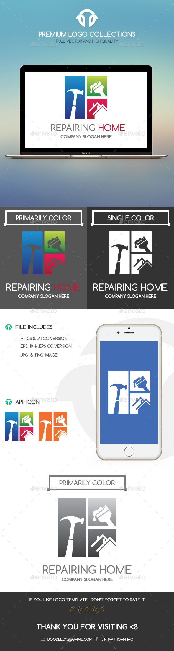 GraphicRiver Repairing Home 11004427