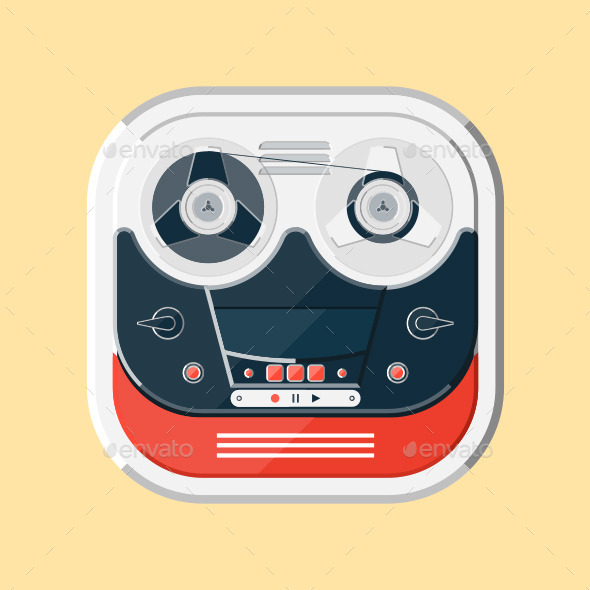 GraphicRiver Tape Recorder 11004468