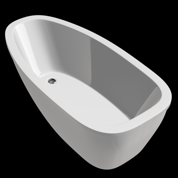 3DOcean Freestanding Modern Bathtub No 05 10905154