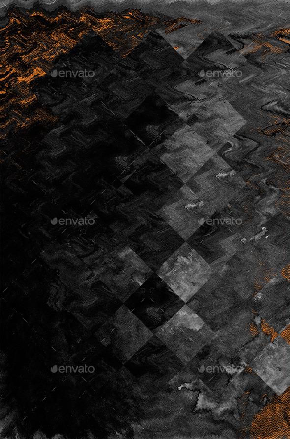 GraphicRiver Dark Futuristic Background 11004570