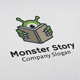 Monster Story Logo - GraphicRiver Item for Sale