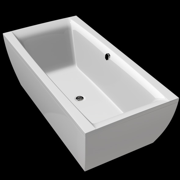 3DOcean Freestanding Modern Bathtub No 06 10905953