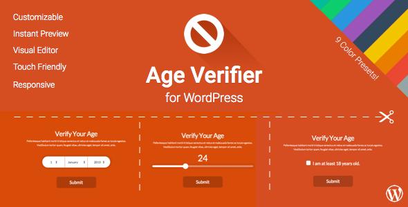 CodeCanyon Age Verifier for WordPress 11004728