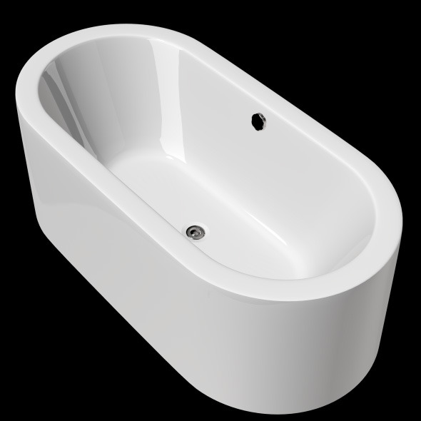 Freestanding, Modern Bathtub_No_07 - 3DOcean Item for Sale