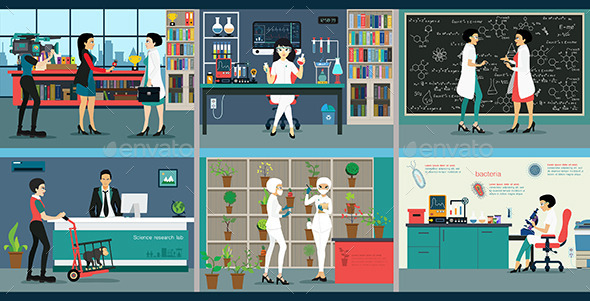 GraphicRiver Science Lab 11004907