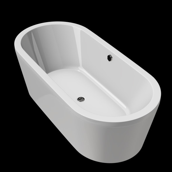 Freestanding, Modern Bathtub_No_09 - 3DOcean Item for Sale
