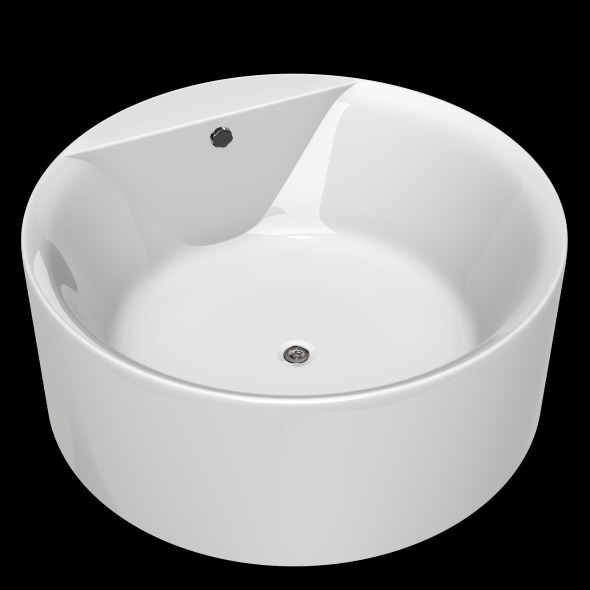 Freestanding, Modern Bathtub_No_10 - 3DOcean Item for Sale