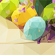 5 Polygonal Easter Backgrounds - GraphicRiver Item for Sale